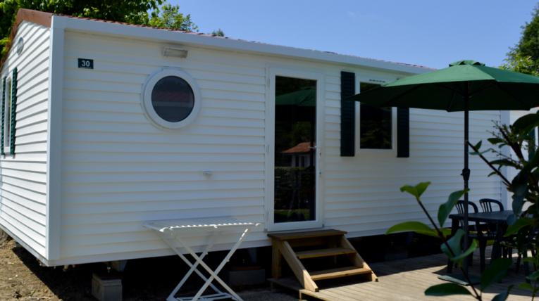 Camping au pays basque mobil-home 4 à 5 personnes