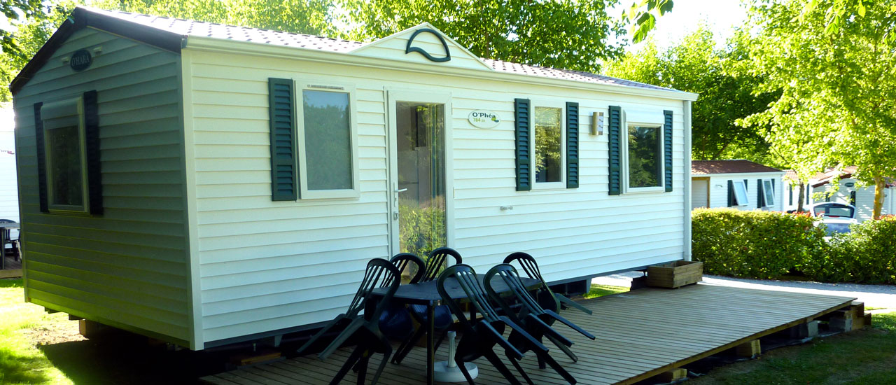 Mobil-Home 3 chambres 6 personnes