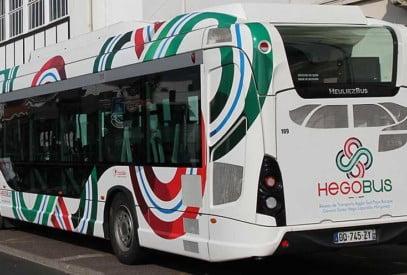 navette bus pour se déplacer au pays basque