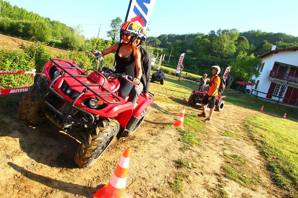 Activité quad à Saint-Pée-sur-Nivelle pour découvrir le pays basque