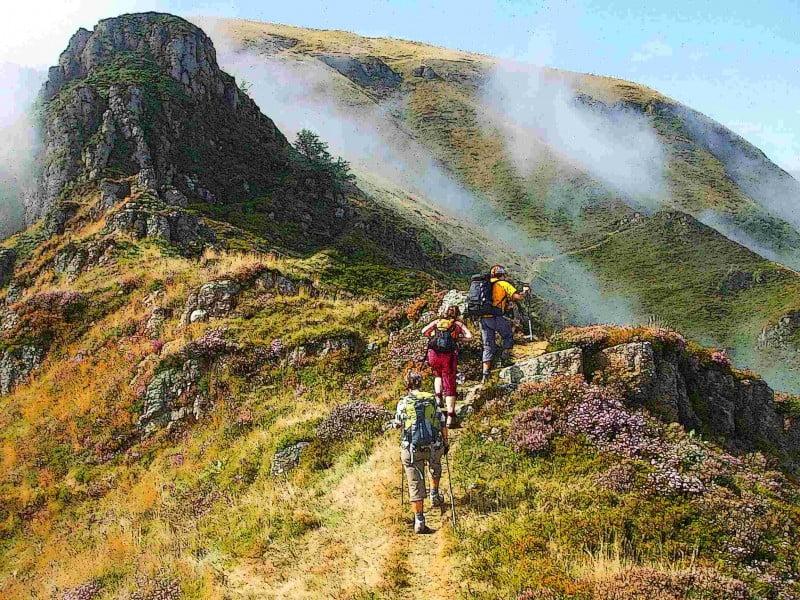 randonnées au coeur des montagnes au pays basque