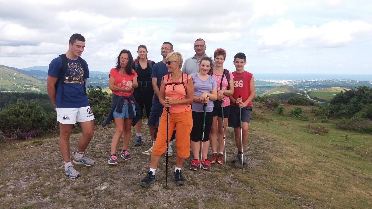 Randonnee à Saint Pée Sur Nivelle au coeur du pays basque
