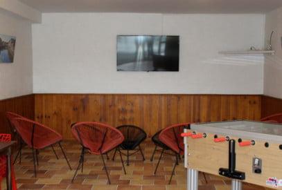 Salle TV Camping Saint-Pée-sur-Nivelle